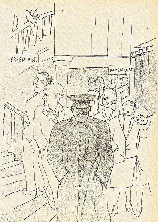 Christian Schad, Zauberflöte. 1924.