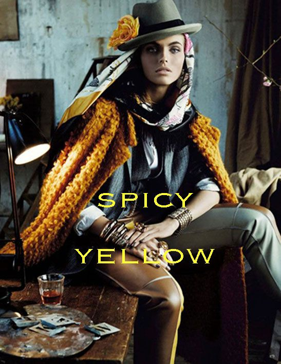 *spicy yellow*