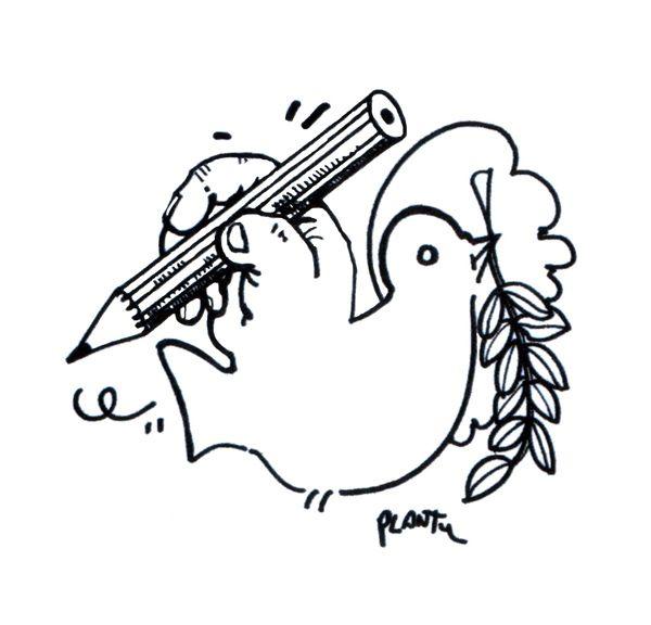 Top 10 des dessins de presse qui défendent la liberté d'expression | Topito