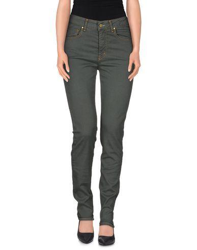 #Maison clochard pantaloni jeans donna Verde scuro  ad Euro 21.00 in #Maison clochard #Donna jeans pantaloni jeans