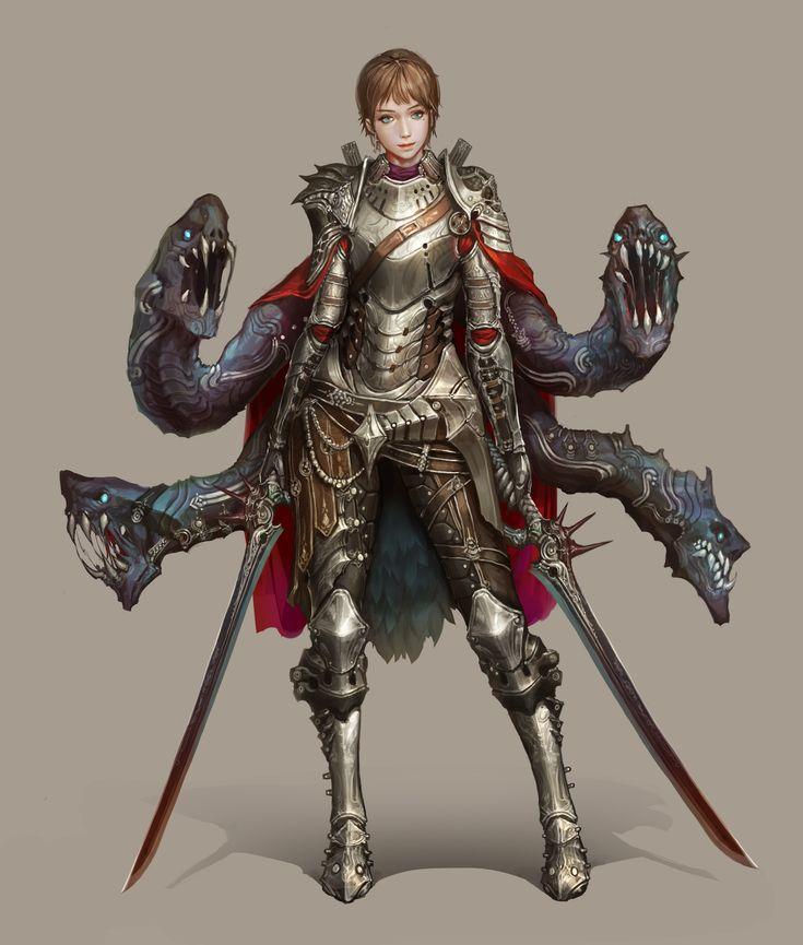 Knight, JeongSeok Lee on ArtStation at https://www.artstation.com/artwork/Ayl4W