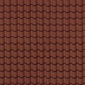 Textures Texture seamless | Clay roof tile texture seamless 03463 | Textures - ARCHITECTURE - ROOFINGS - Clay roofs | Sketchuptexture