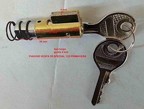 Serrure Cadre Clé Fourche pour vespa 50/125SPECIAL PRINTEMPS Px: Serrure cadre clé volant Piaggio vespa 50special N- r L-//vespa125et3…