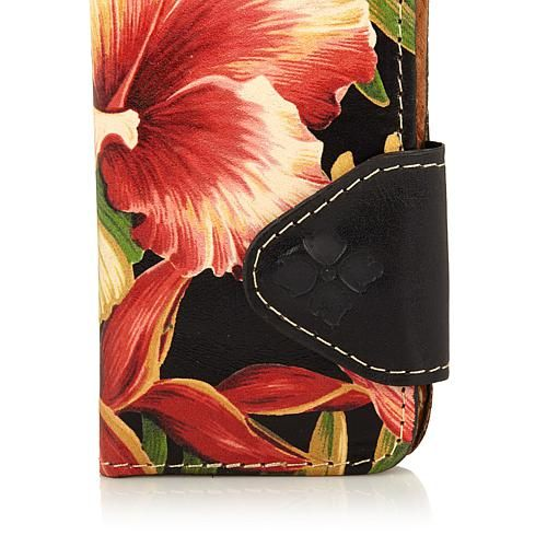 Patricia Nash Leather Vara iPhone 7 Phone Case - Cubantropicalblck