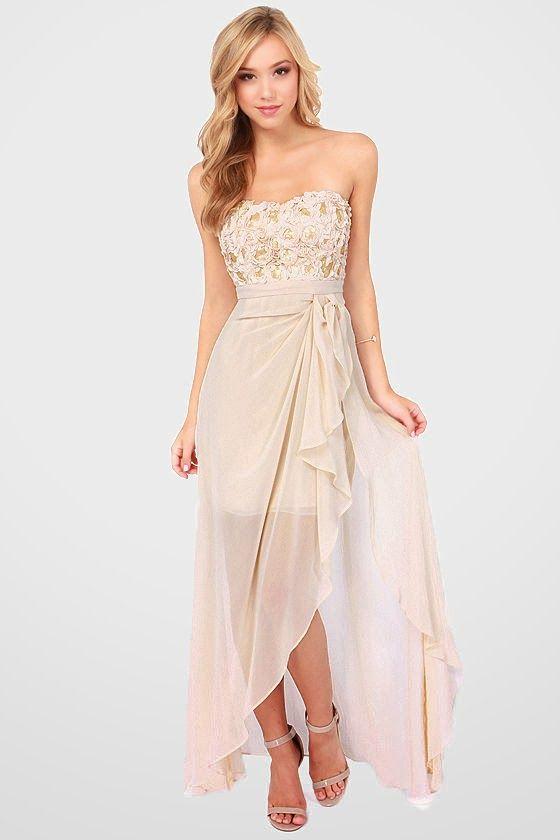 Bonitos vestidos de damas de honor