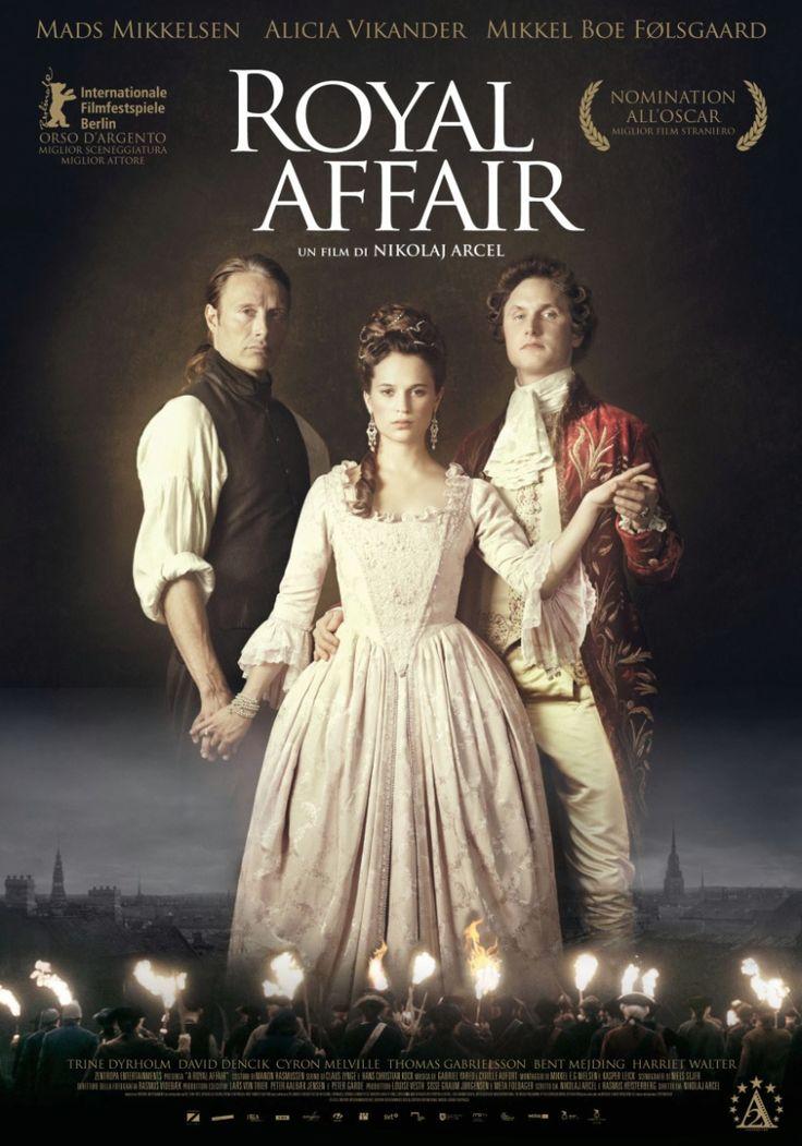 Royal Affair, scheda del film di Nikolaj Arcel con Alicia Vikander e Mads Mikkelsen, leggi la trama e la recensione, guarda il trailer, trova la programmazione al cinema