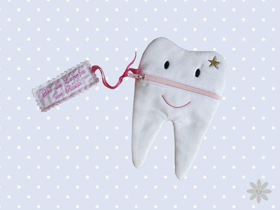 Fichier de broderie 14, 5 x 25, 5 - pochette fée des dents (ITH)