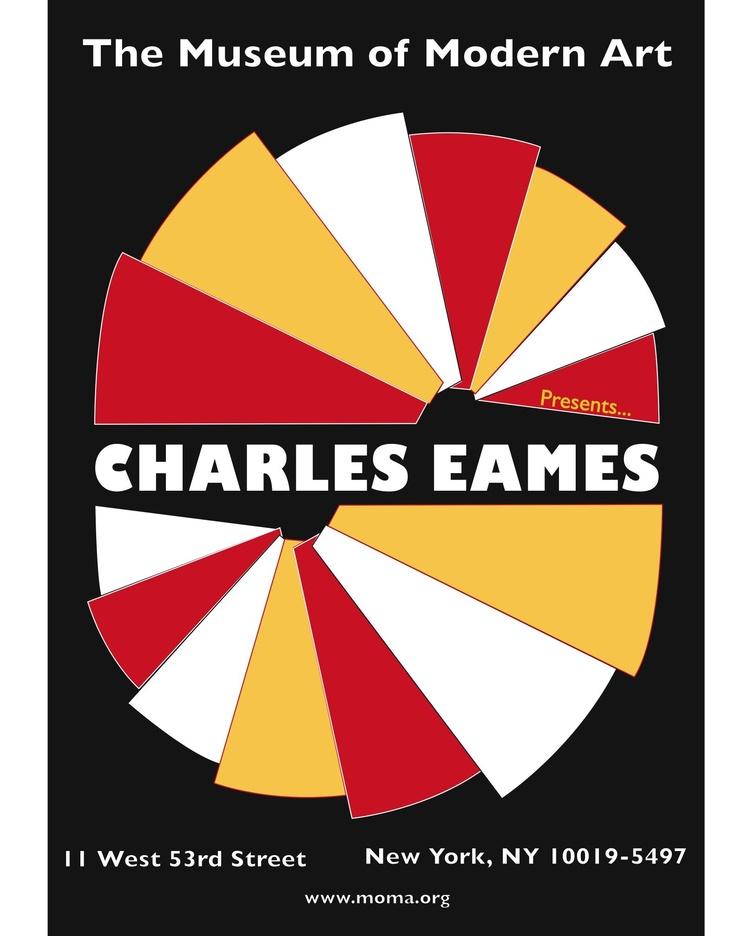 Charles Eames Moma poster