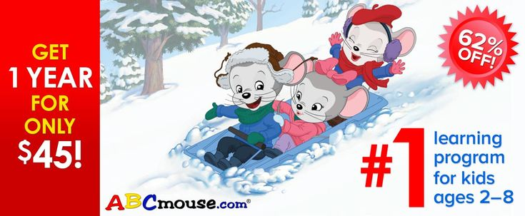 Check out the ABCmouse Holiday 2017 special – get your first year 50% off (plus a 3 payment option to spread it out!)   ABCmouse Holiday Deal: Get 1 Year of ABCmouse for $45 – 62% Off! →  https://hellosubscription.com/2017/12/abcmouse-holiday-deal-get-1-year-abcmouse-45-62-off/ #ABCMouse  #subscriptionbox