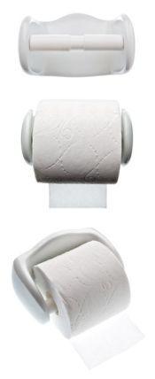 Toiletrulle holdere kan være svære at finde. Endelig er det lykkedes os at finde denne som er simpel i udtrykket og i hvid porcelæn. #badeværelse #toilet #toiletrulleholder #tingtilbadeværelse #bathroom #indretning #bolig #vådrum