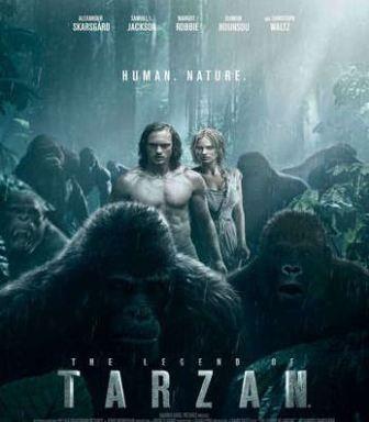 The Legend of Tarzan (2016) HD Dual-Audio Hindi - English Movie Free Download…