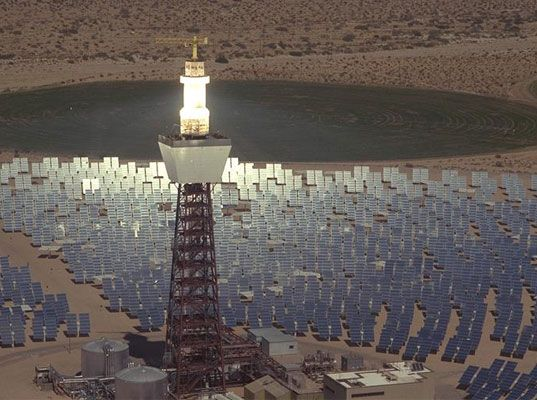 Wouldn't it be nice to visit Las Vegas and know it is being powered by the sun? The Crescent Dunes Solar Energy Project by SolarReserve is going to make it happen.