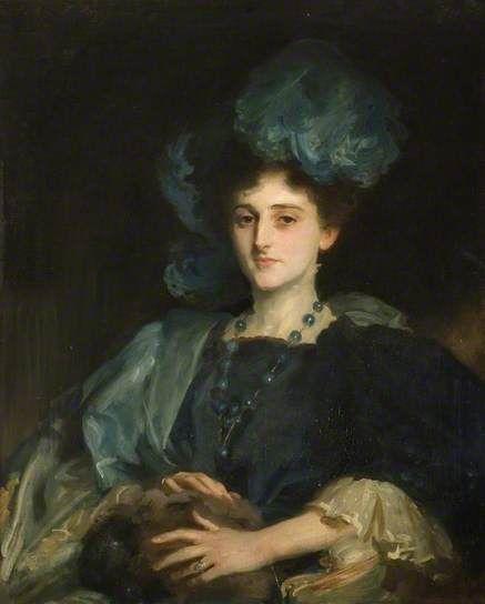 Miss Katherine Elizabeth Lewis (d.1961) by John Singer Sargent, 1906