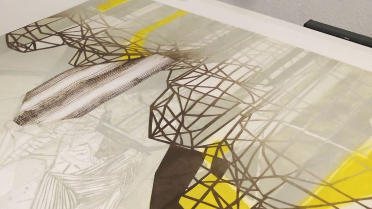 Glossary celebrates the very best in contemporary printmaking and takes the viewer on a journey into the private studios of seven artists working in the UK today…