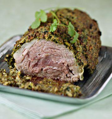 Rôti d'agneau aux herbes - les meilleures recettes de cuisine d'Ôdélices