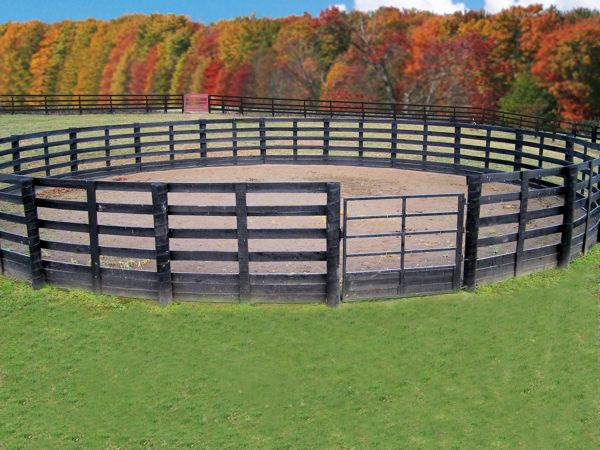 50ft round pen | Training Arena Training Arena Odyssey Horse Walker 50 Ft Round Pen