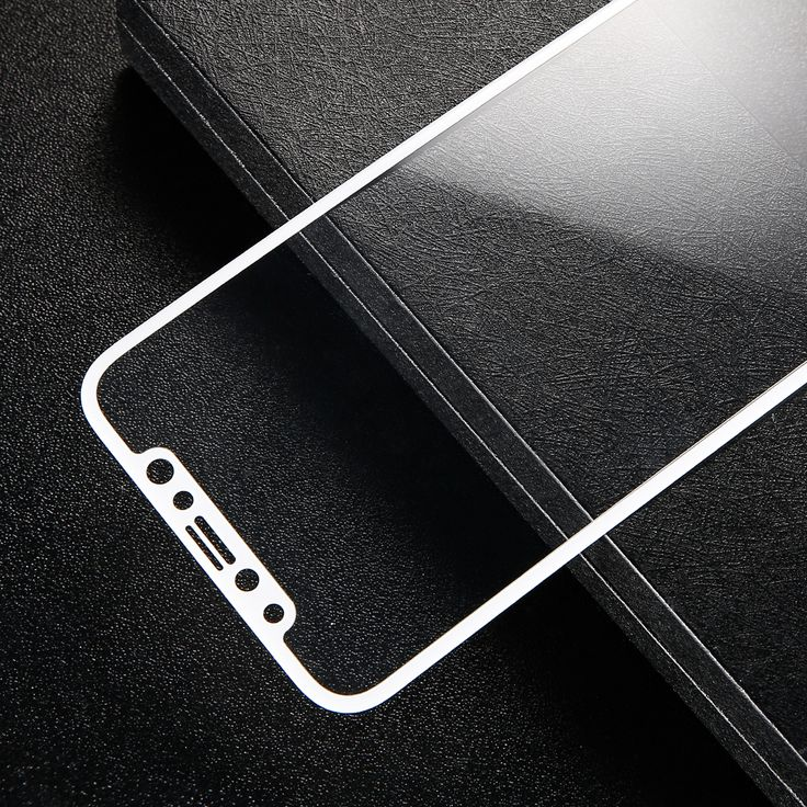 Baseus 0.2mm 3D Arc Edge Front Rear Tempered Glass Film Screen Protector for iPhone X
