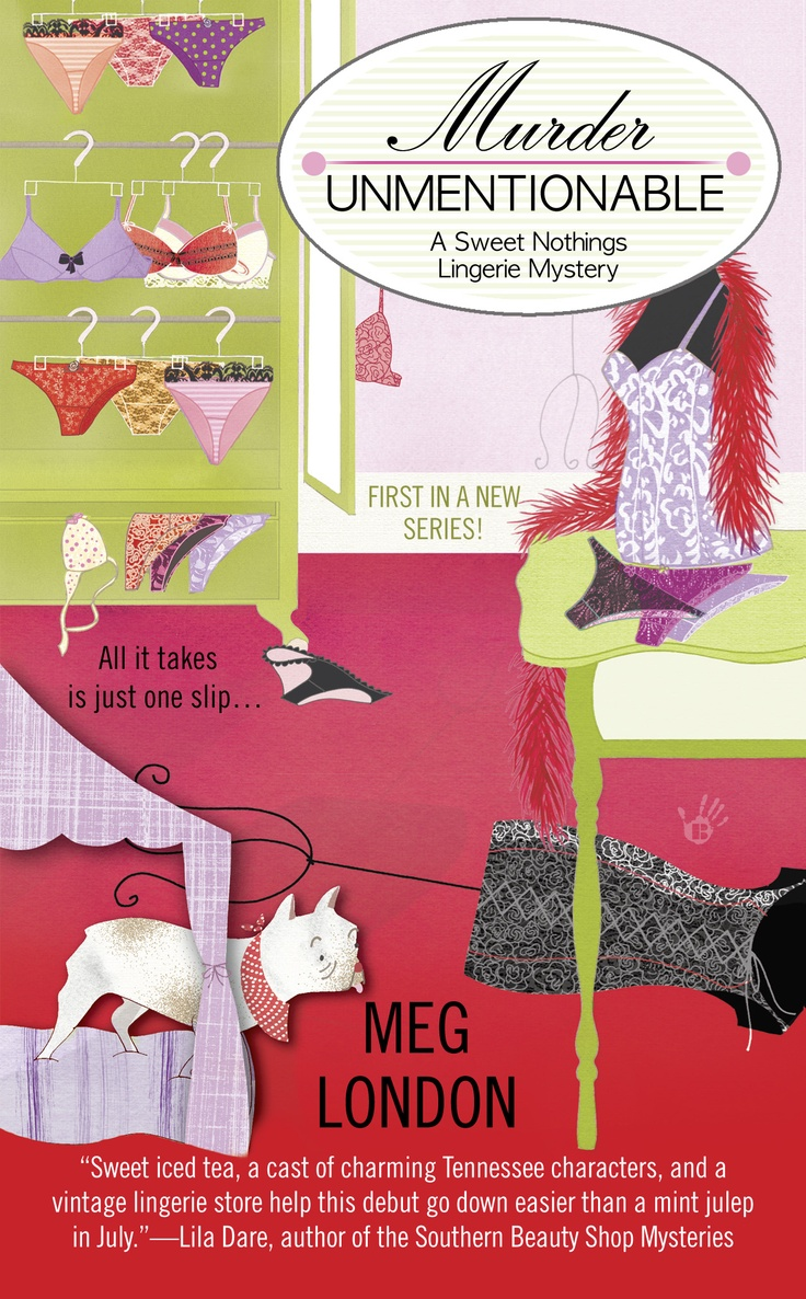 Cover for the first book in my Sweet Nothings Lingerie Series