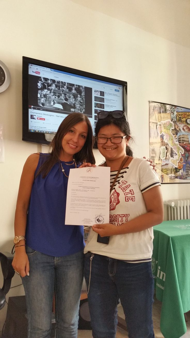 www.accademi-italiana.it  #certificati