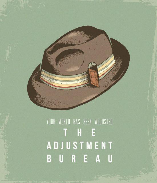 The adjustment bureau bureaus and movie posters on pinterest for Bureau 13 movie