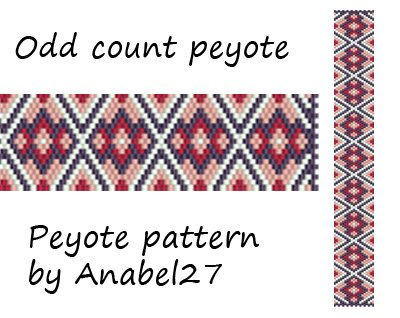 Pattern made with size 11/0 Miyuki Delica seed beads Approx width: 1 (19 columns) Approx length: 7.04 Technique: Odd Count Peyote Colors: 4   Pattern includes: - Large colored numbered graph paper - Bead legend (numbers and names of delica beads colors ) - Word chart - Pattern preview  PLEASE NOTE: !!! PATTERN DOES NOT CONTAIN ANY INSTRUCTIONS OR MATERIALS !!!  1 PDF file: (Instant download, link is available once your payment is confirmed)  This pattern is for personal use only. Do not…