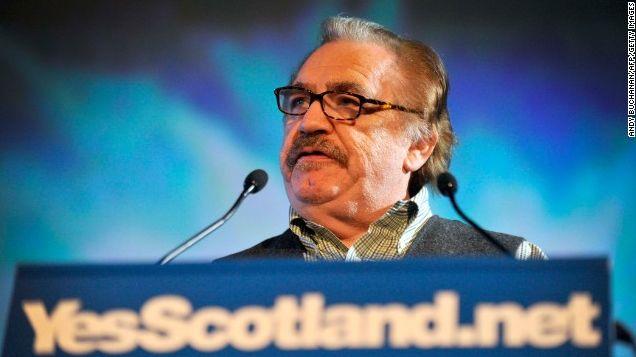"Actor Brian Cox says a Yes Scottish #indyref vote will see ""democracy reborn"" http://cnn.it/1s0B2RQ pic.twitter.com/zyQ1p1uQ7Q"