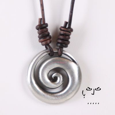 VujuWear Pewter MAORI KORU Pendant   Men's Leather by VujuWear, $18.99 ~~~ SHOP NOW FOR 30% OFF OUR ENTIRE COLLECTION. USE CODE VUJUPN30. ~ VujuWear