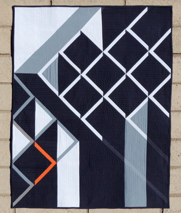 Downstream {Submitted QDAD Showcase Quilt}