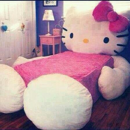 Hello Kitty bed