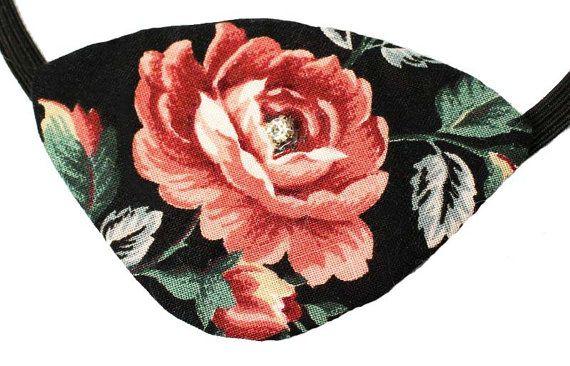 Eye Patch Rose Shimmer Fashion Pirate Cosplay by JenkittysCloset
