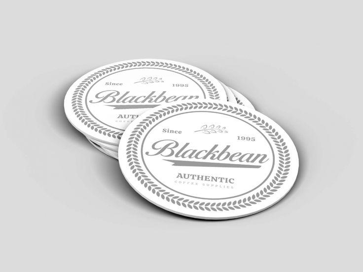 Free Coaster Label Mockups Psd Business Card Mock Up Circle Business Cards Mockup Psd