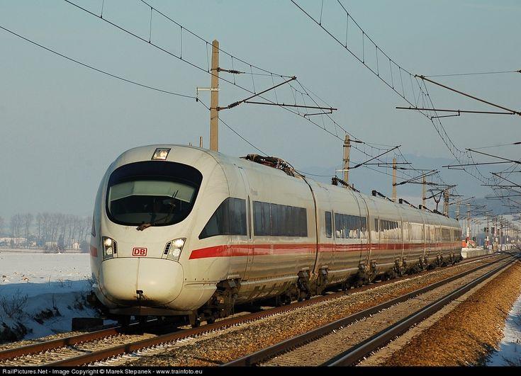 RailPictures.Net Photo: 411.552 DB AG ICE at Ollersbach, Austria by Marek Stepanek - www.trainfoto.eu