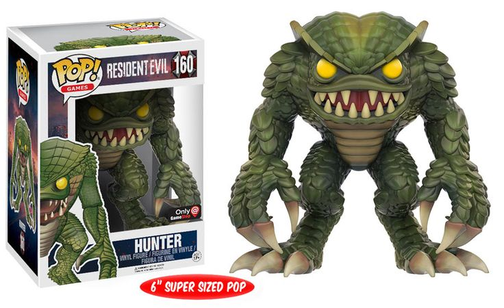 Resident Evil: Hunter Pop figure by Funko