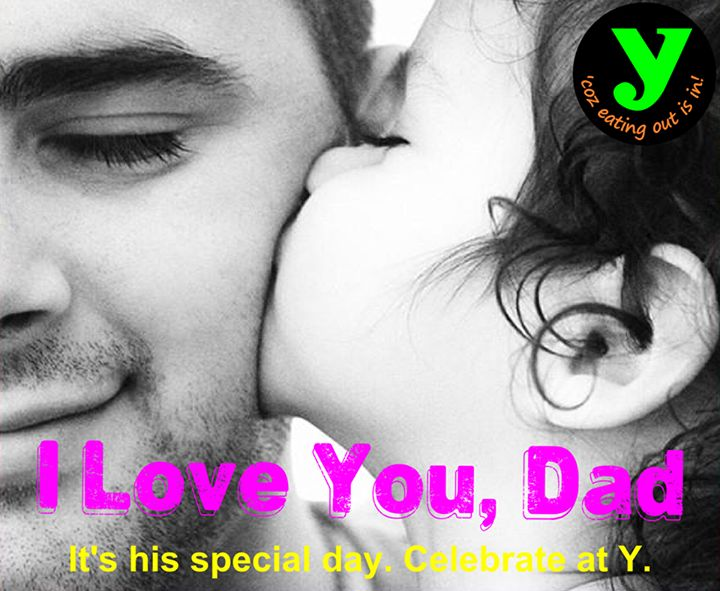 Celebrate this #Father's day at Y! https://www.facebook.com/YcafeIndia