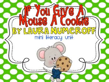 {FREEBIE} If You Give a Mouse a Cookie Mini Literacy Unit
