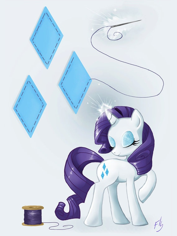 Rarity by FinalflyfarArt on Etsy, £2.00