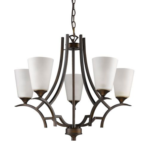 Acclaim Lighting Zoey Oil Rubbed Bronze Five Light Chandelier On SALE