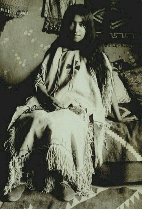 """Geronimo's daughter, for anyone who hasn't seen the movie """"Geronimo"""", it's amazing!"""