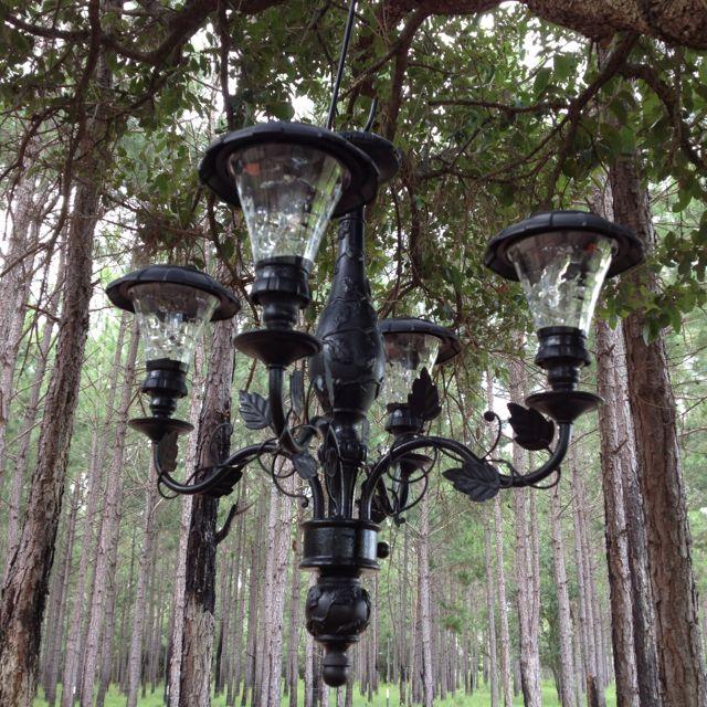 Current Obsession Lantern Chandeliers: 25+ Unique Solar Light Chandelier Ideas On Pinterest
