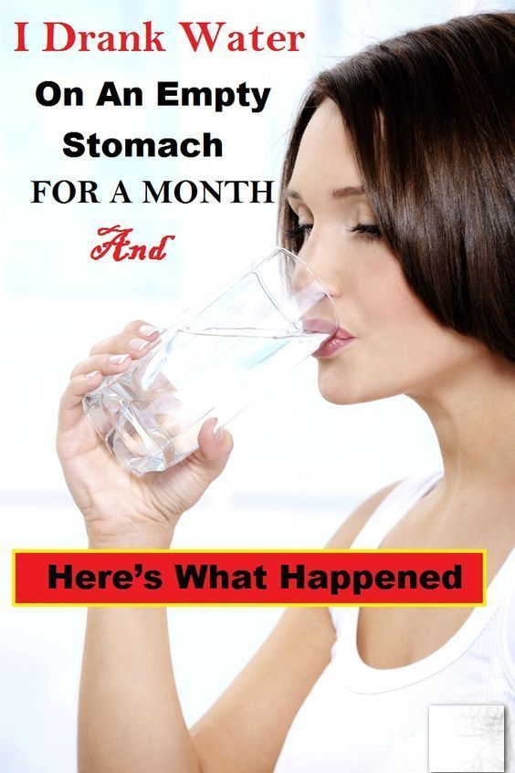 Tweet Share I Drank Water On An Empty Stomach for a Month and Here's What Happened » World Truth 365