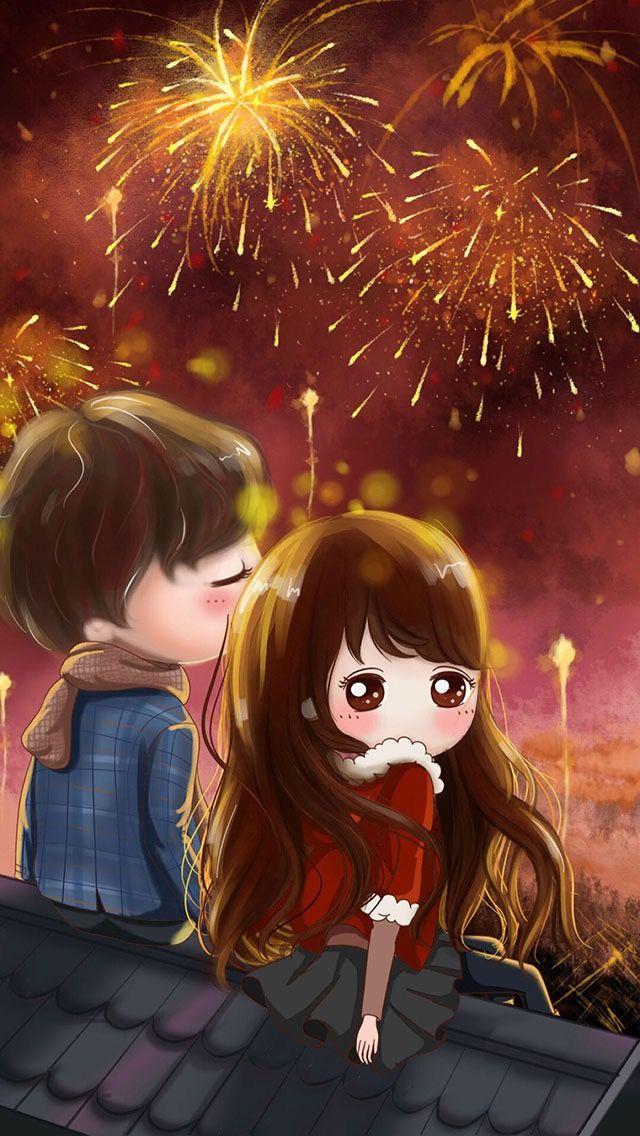 Pin By Rhonda Gilmore On Christmas New Years Cute Couple Wallpaper Anime Art Girl Anime Love Couple