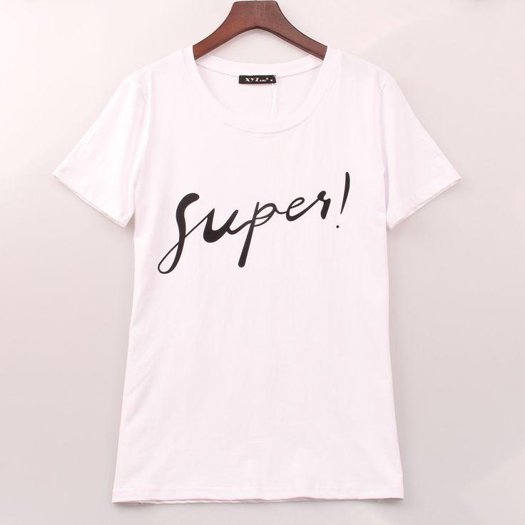 2016 verão XXS XL camiseta mulheres Fupes impresso impressão T   Shirt mulheres Tops T Shirt Femme Plus Size vestuário Casual mulher em Camisetas de Das mulheres Roupas & Acessórios no AliExpress.com   Alibaba Group