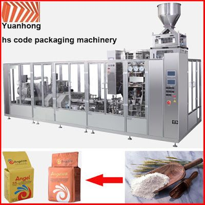 Automatic Packing Line For Industry Automation in the future: Powder brick bag vacuum automatic packing machine