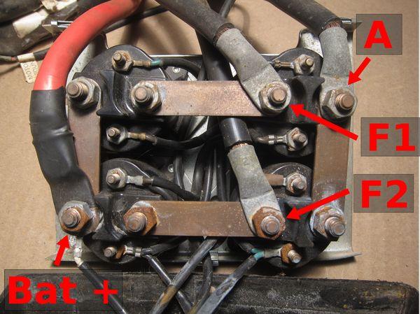 Winch Warn Solenoid, Warn M8000 Wiring