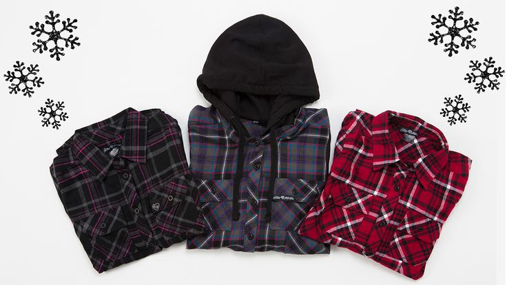 Maiden's Holiday Flannels