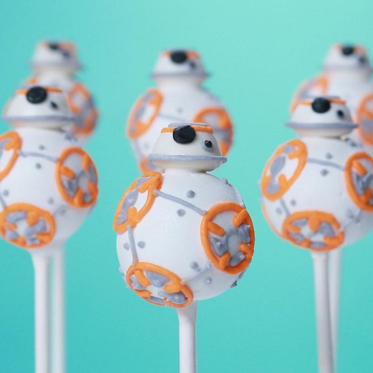 How to Make Adorable BB-8 Cake Pops
