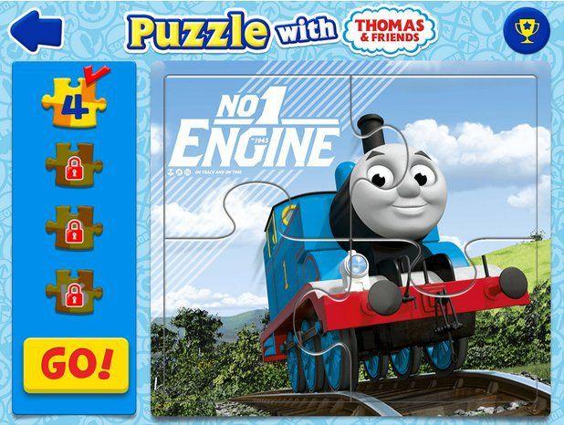 Game Thomas and Friend untuk anak balita