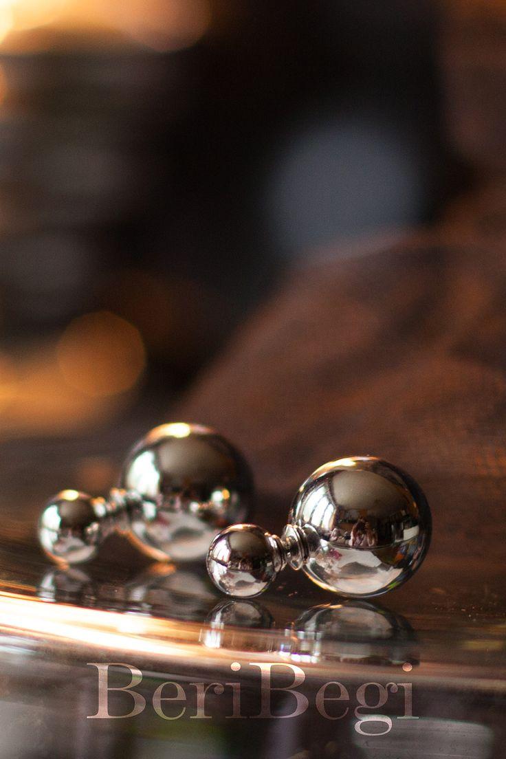 BeriBegi представляет must-have этого лета: двойные серьги с серебряными шариками ■ Для заказа пишите в what's up 8-925-046-18-47 ■ Весь ассортимент можете найти в наших альбомах и на сайте www.beribegi.com/ ■