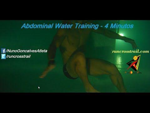 Abdominal water training - 4 minutos treino na piscina - Hidroginástica