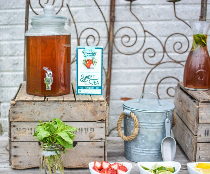 Celebrate National Iced Tea Month With Your Own Iced Tea Bar – Southern Breeze Sweet Tea @sbreezetea